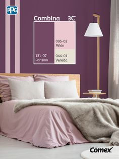Plum Bedroom, Bedroom Colors, Wall Colors, House Colors, Wall Painting Decor, Cute Room Decor, Room Color Schemes, Glam Room, Room Paint