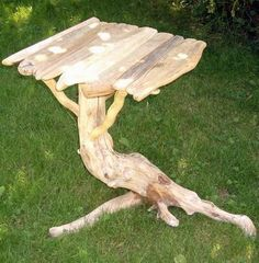 4 the love of real wood: TABLES - driftwood furniture Twig Furniture, Driftwood Furniture, Rustic Wood Furniture, Driftwood Projects, Outdoor Furniture, Hardwood Furniture, Driftwood Ideas, Furniture Ideas, Driftwood Christmas Tree