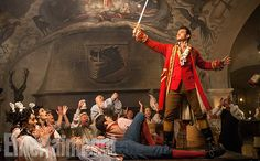 'Beauty and the Beast': See 9 Enchanting, Exclusive Photos | Luke Evans as Gaston | EW.com