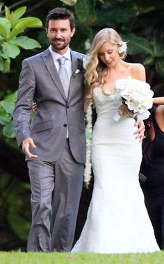 Introducing Mr. and Mrs. Brandon Jenner!