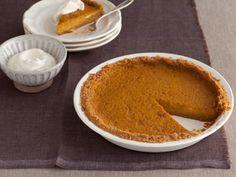 Throwdown Pumpkin Pie from FoodNetwork.com