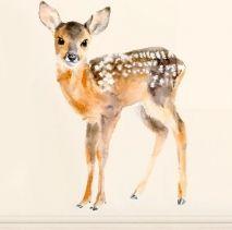 Sisustustarra- setti, Chocovenyl (Baby Deer)
