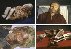 n the late 1980's, perfectly preserved 3000-year-old mummies such as the amazing Marquis of Dai Mummy (via chinatravel.net) shown above began appearing in a remote Taklamakan desert.