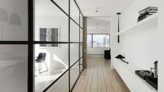 Loft Style- 5 Ways to Delineate Space with Steel and Glass on the Interior Collective 1