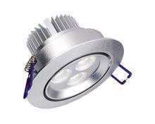 LED Inbouwspots 3 x 1 watt Zilver,  15.95 per stuk niet dimbaar