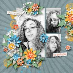 May 2018 Template Challenge This is Me {Elements} This is Me {Paint & Scatters} This is Me {Patterned Papers} This is Me {Solid Papers} , My Scrapbook, Pattern Paper, Templates, Frame, Challenge, Painting, Decor, Art, Picture Frame