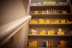 Beauty spa Yorkshire, Decleor, Neom, beauty products, spa products, spa reception
