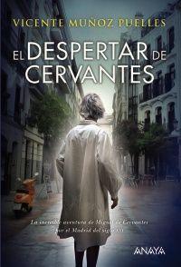 Cervantes despierta, convertido en fantasma,  y sale a la calle, al mundo del siglo XXI,  por un Madrid que le cuesta reconocer.  http://rabel.jcyl.es/cgi-bin/abnetopac?SUBC=BPBU&ACC=DOSEARCH&xsqf99=1857120