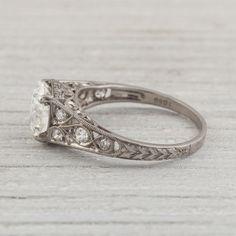 Image of 1.81 Carat Edwardian Vintage Engagement Ring