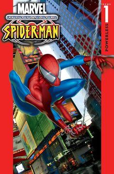 Ultimate Spider-Man, Vol. Volume 1 of the Ultimate Spider-Man Saga! Ultimate Spider Man, Ultimate Marvel, Star Citizen, Free Comics, Dc Comics, Comic Book Covers, Comic Books, Comic Art, Children's Books