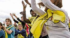 Mobilisation des jeunes militants d'Amnesty International France