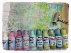 PaperArtsy: Brayered Backgrounds {Part 2} by Leandra Franich