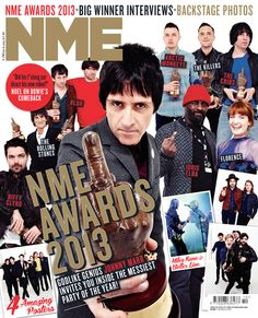 See all the latest NME Covers from your favourite artists, celebrities and more. Nme Magazine, Magazine Covers, Johnny Marr, Music Magazines, Arctic Monkeys, My Favorite Music, Rolling Stones, Comebacks, Rock And Roll