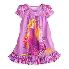 Disney Rapunzel Nightshirt for Girls | Disney StoreRapunzel Nightshirt for Girls - Your sleepy princess can let her hair down and relax in regal splendor in this Rapunzel Nightshirt. Every day will be a good hair day when it ends in the company of the <i>Tangled</i> star and her long golden locks.