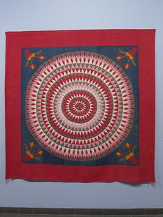 Bull's Eye Quilt - 1900-1920 - American Folk Art Museum