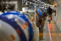 #CERN reports Large Hadron Collider particle smasher was taken offline by weasel Friday; some connections damaged - AFP #757Live