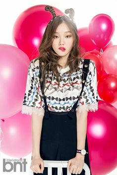 """""""Lee Sung Kyung for BNT International, February 2015 Issue """" Style Ulzzang, Ulzzang Fashion, Korean Fashion, Lee Sung Kyung, Korean Celebrities, Celebs, Asian Woman, Asian Girl, Park Shin Hye"""