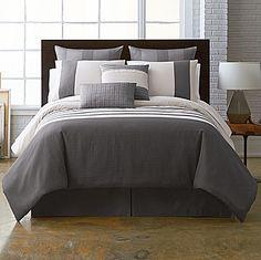 jcp | Studio™ Parallel Striped 4-pc. Comforter Set & Accessories
