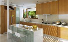 Na Miarę 1 - wizualizacja 5 - Nowoczesny projekt domu z kuchnią od frontu