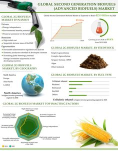 Global Second Generation Biofuels (Advanced Biofuels) Market (Fuel Types, Feedstock Types and Geography) - Size, Share, Global Trends, Company Profiles, Demand, Insights, Analysis, Research, Report, Opportunities, Segmentation and Forecast, 2013 - 2020