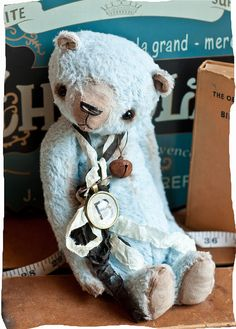 Blue Bear by The Vintage Magpie, via Flickr