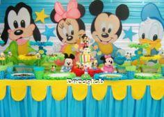 que comida dar en un cumpleaños de 1 año de mickey mouse bebe - Buscar con Google