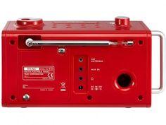 Rádio Relógio Despertador/Alarme AM/FM - Entrada Auxiliar Display Digital - TEAC R5 com as melhores condições você encontra no Magazine Sualojaverde. Confira!