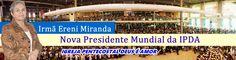 ESPOSA DO MISSIONÁRIO DAVI MIRANDA-FUNDADOR DA IGREJA DEUS É AMOR!