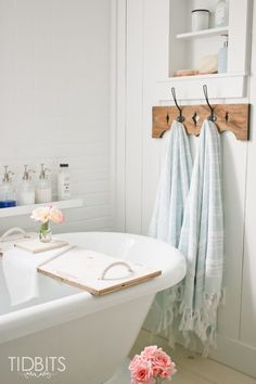 Simple and fuss free Summer living - Lovely Turkish towels from Birch Lane.