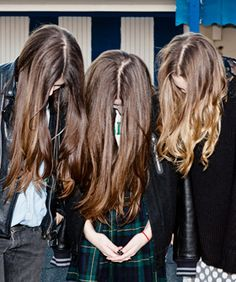 Current Obsession HAIM Spills On Thrifting, Hair Care,  I love their hair. Gorgeous, long and not pretentious