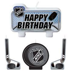 NHL Candle Set 4ct
