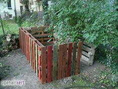 13_raklap_komposztalo Texture, Wood, Garden, Crafts, Surface Finish, Garten, Manualidades, Woodwind Instrument, Timber Wood