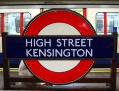 Guide to High Street Kensington Tube Station in London