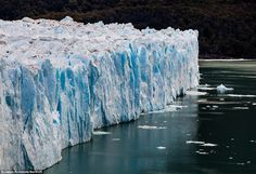 The glacier ruptures on average every four to five years, with its last major event happening in January 2013