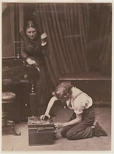 Oscar Gustave Rejlander - Caught! - 1860
