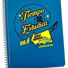 Las libretas de La Mejor FM Agosto 2015