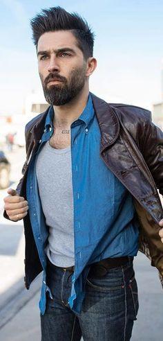 Trendy Beard Styles For Men In 2019 Types Of Beard Styles, Latest Beard Styles, Types Of Beards, Beard Styles For Men, Hair And Beard Styles, Hair Styles, New Beard Style, Guy Style, Thin Beard