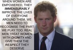 Prince Harry   17 Celebrities Who Have The Right Idea About Feminism