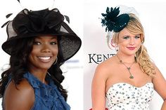 How fun! Celeb-Inspired Kentucky Derby Fashion: Fabulous Floppy Hats on Celebrations.com