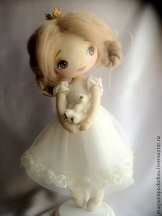 Collectible handmade dolls. Fair Masters - handmade doll Interiors Little Princess. Handmade.