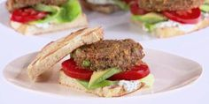 These meatless burgers are great for an outdoor meal–no barbecue required.