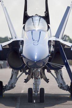 US Navy Blue Angels F-18