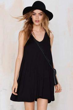 Play It Loose Knit Dress - Dresses