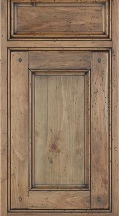 Kitchen Cabinets Glazed pecan maple glaze kitchen cabinets, rustic finish- sample door-rta