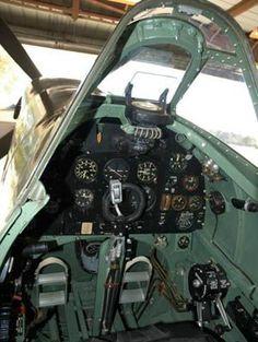Spitfire Cockpit | Aviones | Pinterest