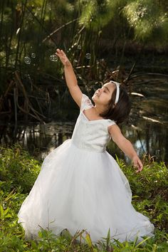 Check out this item in my Etsy shop https://www.etsy.com/au/listing/468553762/white-or-ivory-lace-tulle-flower-girl