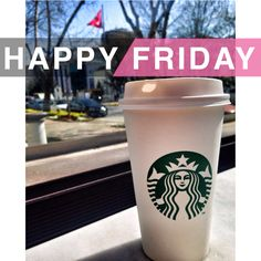 Starbucks happy friday