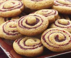 Diabetic Recipes - Cranberry-Honey Spice Pinwheel Cookies