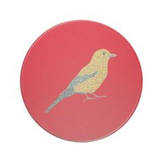 #beauty - #Hipster Birds Coaster