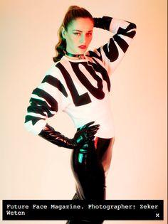 Kim West pencil skirt - Future Face.